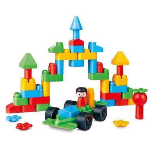 PolyM constructie-speelset Creatieve stad (50 stuks)  - 19.99 - multicolor