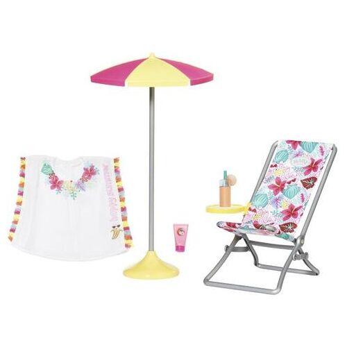 Baby Born Poppen ligstoel Holiday ligstoel set (set)  - 24.99 - multicolor
