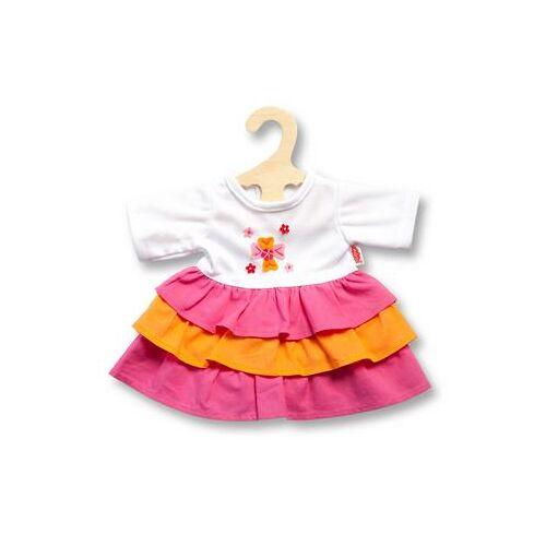 Heless poppenkleding Jurk Pinky  - 16.99 - roze - Size: 1, voor poppen van 28-35 cm;2 voor poppen van 35-45 cm