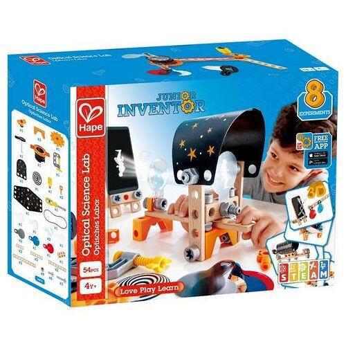 Hape constructie-speelset Junior Inventor optisch laboratorium (54 stuks)  - 39.99 - multicolor