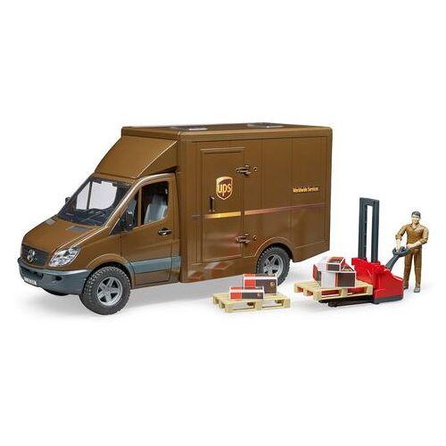 bruder® bestelwagen 02538, »Mercedes Benz Sprinter UPS«  - 44.99 - bruin