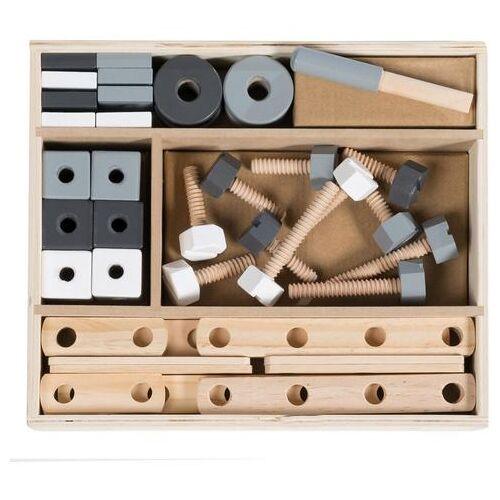 Roba constructiespeelgoed, »Houten bouwkist, 48-delig«  - 34.90 - beige