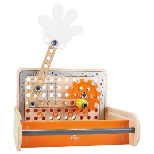 Hape speelgoed-gereedschapskoffer  - 44.99 - oranje