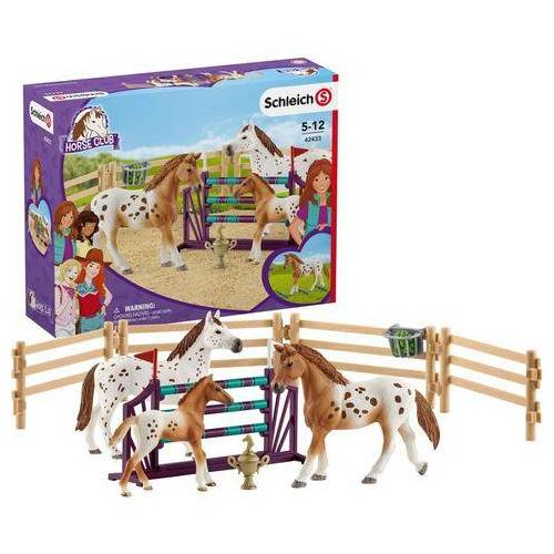 Schleich® speelset (42433), »Horse Club, Lisa's toernooi training«  - 24.99
