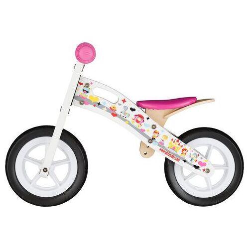 "Bikestar loopfiets ""Holz"", 10 inch  - 64.99 - wit"