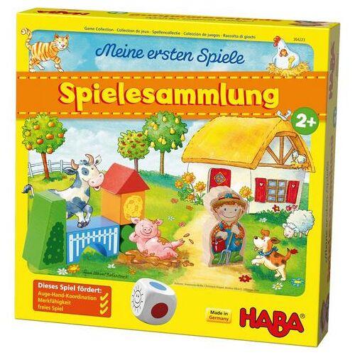 Haba spel Mijn eerste spellen - Spellenset made in germany  - 29.95 - multicolor