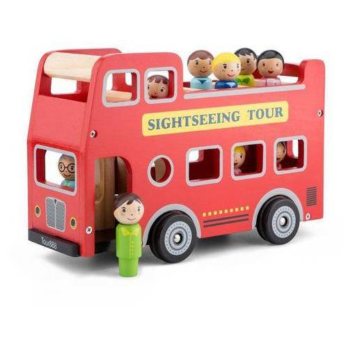 New Classic Toys speelgoed-bus  - 34.99 - rood