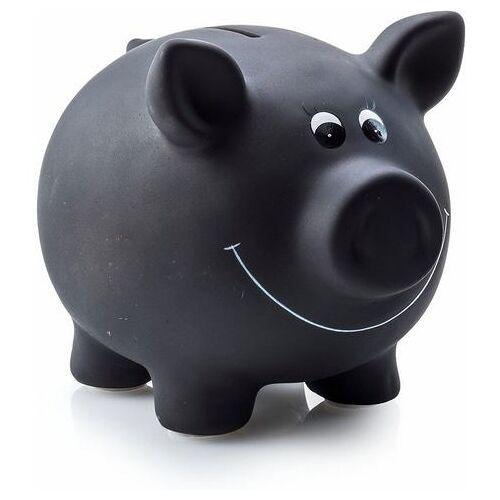 pajoma spaarpot Varken Spaarvarken, van keramiek, beschrijfbaar, inclusief krijt  - 14.99 - zwart