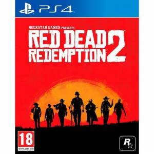 PlayStation Game PS4 Red Dead Redemption 2  - 69.99