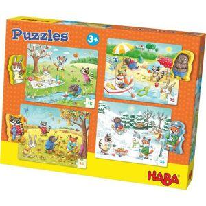 HABA® puzzel, 4x15 delen, »Jaargetijden«
