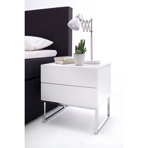 nachtkastje wit op frame