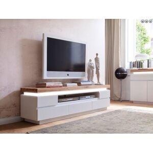 mat wit tv meubel 5 laden