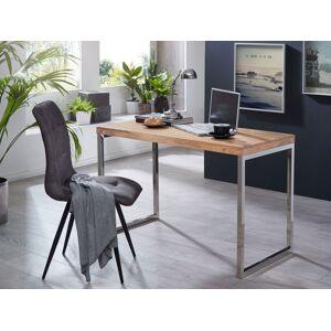 bureau acacia hout 120 cm