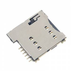 Zelf Push Sim Card Slot Micro Sim Geheugenkaart Houder Adapter Verbinding Gebruik Voor Gsm Module SIM800L SIM800C
