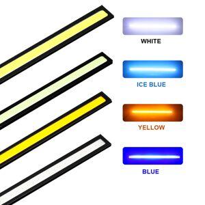 1 stks SUNKIA 17 cm COB LED Lights DRL 100% Waterdichte Dagrijverlichting Auto Lamp Externe Verlichting Voor Universal auto