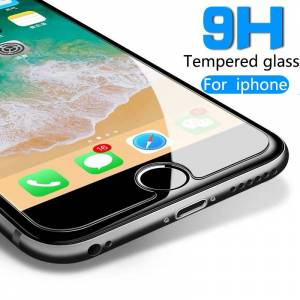 Voor Iphone 5 5S 6 6S 7 8 Plus X Xr Xs 11 Pro Max Gehard Glas Screen protector Film Explosieveilige 6S Op De Beschermende Glas