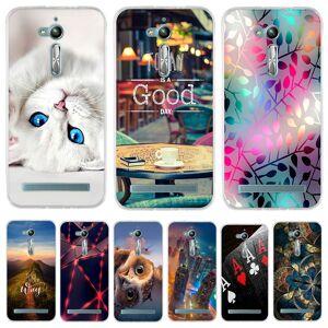 Voor Asus Zenfone Gaan ZB500KL ZB500KG Case Silicone Back Cover Voor Asus Zenfone Gaan ZB500KL X00ad Telefoon Case Voor Asus ZB500KL Case