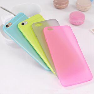 Slim Ultra Thin Kleurrijke Doorschijnend Ontwerp Matte Back Cover Phone Case Voor Iphone X Xs 11 Pro Max Xr 5 5 S Se 6 6S 7 8 Plus