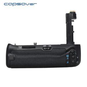 Capsaver Verticale Batterij Grip voor Canon 7D Mark II 7D2 7D II Camera Vervangen BG-E16 Multi-power Batterij Houder werken met LE-E6