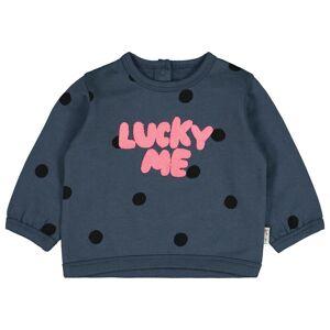 HEMA Babysweater Lucky Me Blauw (blauw)  - Blauw