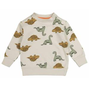 HEMA Babysweater Dino Zand (zand)  - Zand