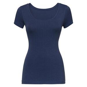 HEMA Dames T-shirt Donkerblauw (donkerblauw)  - Donkerblauw