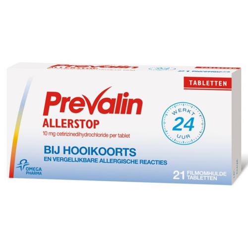 Prevalin Allerstop Cetirizine - 10 mg - 21st.