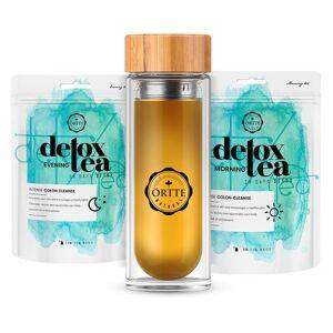 Detox Tea & Bottle - Compleet Programma - Natuurlijk - WeightWorld NL