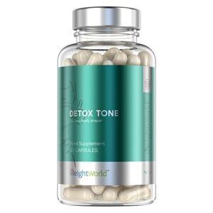 Detox-bundel - Natuurlijk reinigings- en stimulerend pakket - Bevat Detox-toon, Detox-thee en Bio Spirulina-algenpoedersupplementen - WeightWorld