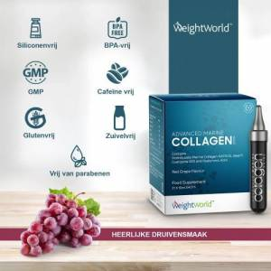 Collageen Drank  5000 mg - 21 x 10 ml met druivensmaak