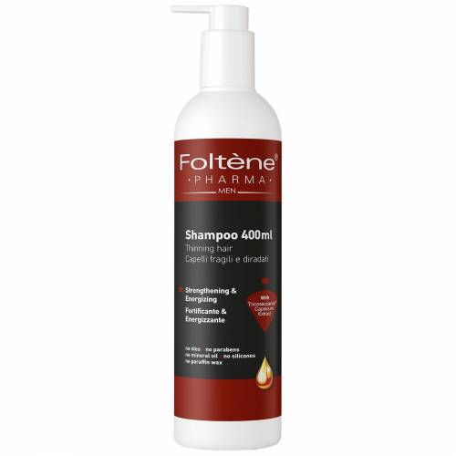 Foltène - Anti-Hair Loss Solutions for Men Dunner wordend haar Shampoo 400ml