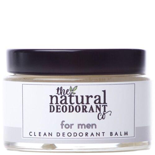 The Natural Deodorant Co. - Clean Deodorant Balm Voor mannen 55g