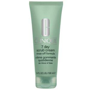 Clinique - Exfoliators & Masks 7 Day Scrub Cream uitspoelbare formule 100ml / 3.4 fl.oz.