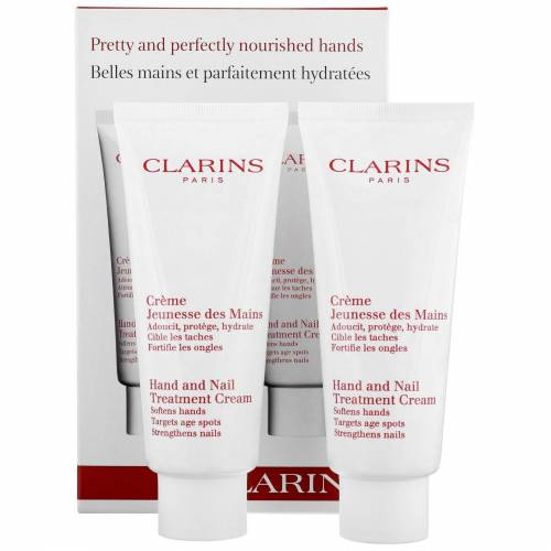 Clarins - Hand & Foot Care Hand & Nail behandeling room 2 x 100ml / 3.4 oz.