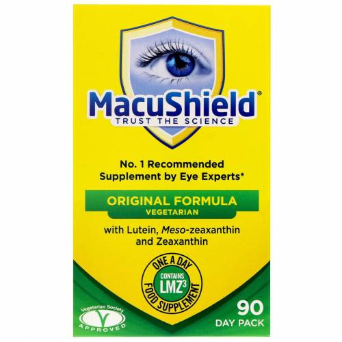 MacuShield - Vegetarian Eye Suppliment 90 capsules