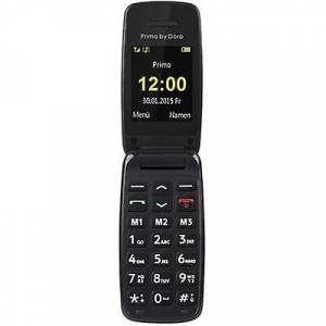 Doro Primo by DORO 401 grote knop Flip Top mobiele telefoon zwart