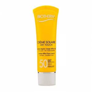 Biotherm Creme Solaire SPF 50 Dry Touch UVA/UVB mat effect face Cream-50ml/1.69 Oz