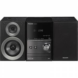 Panasonic 40W DAB + CD Micro Hi-Fi met USB-weergave en Wireless Audio Streaming