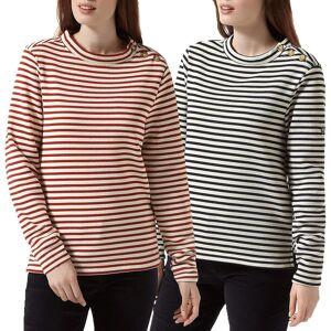 Craghoppers Womens 2020 Balmoral Crew Neck Fleece Sweater Calico/blauw UK 20