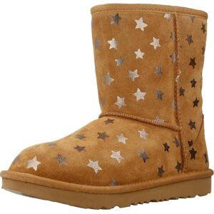 UGG Boots Classic Short II Stars kleur kastanje Brown EU 31