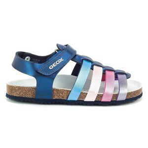 Geox JR Aloha meisje J821CC000NFC4268 universele zomer kids schoenen blauw/Marine 12.5 Kid UK / 13 US / 31 EUR / 20.5 cm