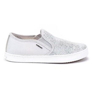 Geox JR Kilwi meisje J62D5D007DWC1355 universele kids jaarrond schoenen zilver/grijs 4 Kid UK / 5 US / 37 EUR / 24.5 cm