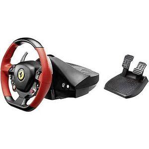 Thrustmaster Ferrari 458 Spider Steering wheel Xbox One zwart incl. voetpedalen