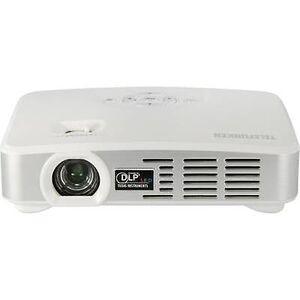 Telefunken Projector DLP500 WIFI DLP ANSI lumen: 500 lm 1280 x 800 WXGA 1000: 1 wit