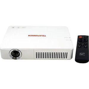 Telefunken Projector DLP700 WIFI LED ANSI lumen: 700 lm 1280 x 800 WXGA 1000: 1 wit