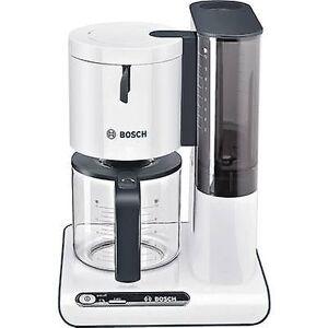 Bosch Haushalt TKA8011 koffie-/ theevoorzieningen wit, antraciet Cup volume = 10 glazen kan, schotelverwarmer