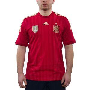 Adidas Fef H Jsy G85279 universele alle jaar mannen t-shirt rood S