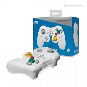 Hyperkin Wii U ProCube draadloze Controller (wit) - Hyperkin