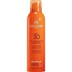 Collistar Zonneproducten Self-Tanners Moisturizing Tanning Spray SPF 20 200 ml
