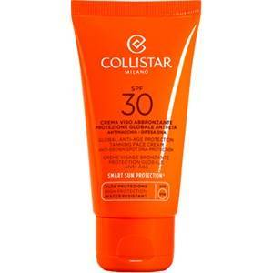 Collistar Zonneproducten Self-Tanners Tan Global Anti-Age Protection Tanning Face Cream SPF 30 50 ml
